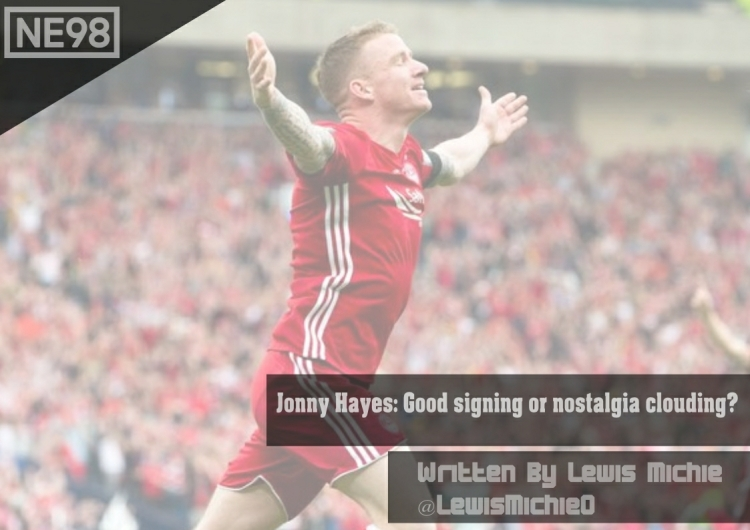Jonny Hayes return